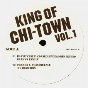 King Of Chi-Town vol.1 - Various artists (feat. Kanye West, Consequence, Common, GLC) - Vinyl EP
