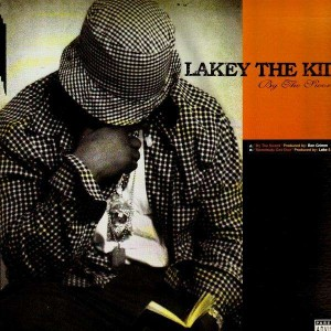 Lakey The Kid - By the sword / Somebody got shot - 12''
