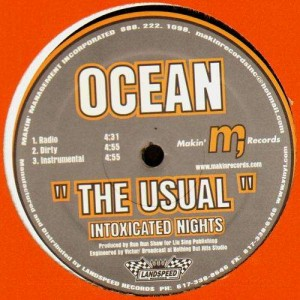 Ocean - The Usual (feat Jean Grae) - 12''