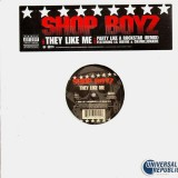 Shop Boyz - They like me / Party like a rockstar remix (feat. Lil Wayne & Chamillionaire) - 12''