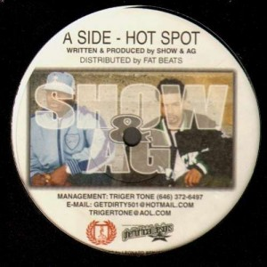 Show & A.G. - Hot spot / Oops - 12''