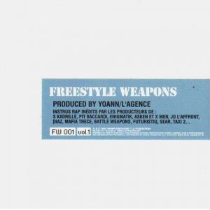 La Fondation - Freestyle Weapons vol.1 - CD