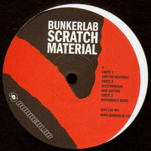 Bunkerlab - Bunkerlab scratch material - LP