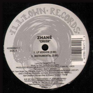 Zhane - Crush / Saturday night - 12''