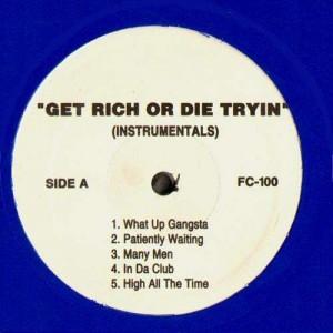50 Cent - Get Rich Or Die Tryin Instrumentals - 2LP