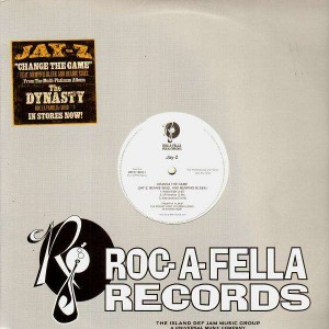 Jay-Z - Change the game / Yo me him and her dynasty - 12''