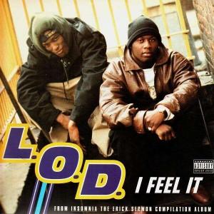 L.O.D. - I feel it / Beez like that / Funkorama - 12''