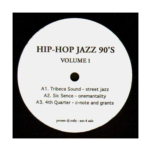 Hip Hop Jazz 90 S Volume 1 Lp Temple Of Deejays