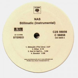 Nas - Stillmatic instrumentals - 2LP