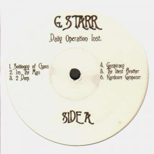Gang Starr - Daily Operation instrumentals - LP