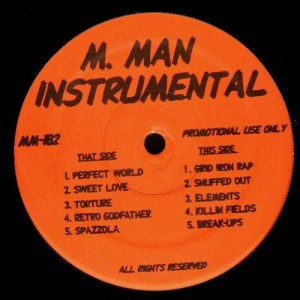 Method Man - M.Man Instrumentals - LP