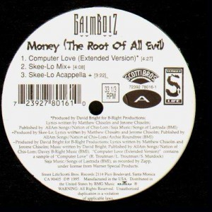 Gaimboiz - Money the root of all evil - 12''