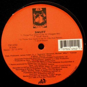 Snuff - Throw Your Guns In The Air / Chicken Hedz - 12''