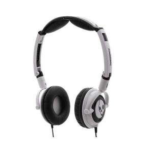 Casque Skullcandy - White/Black Lowrider 2010 with Mic