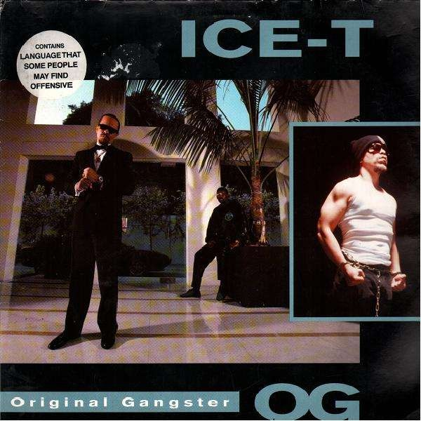 Ice T Original Gangster Lp Temple Of Deejays