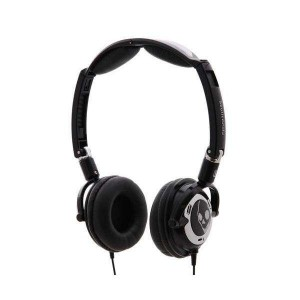 Casque Skullcandy - Black/Chrome Lowrider 2010 with Mic