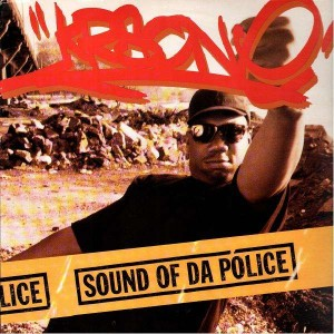 KRS-One - Sound of da police / Hip hop vs rap - 12''