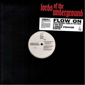 Lords Of The Underground - Flow on new symphony / Lords prayer - 12''