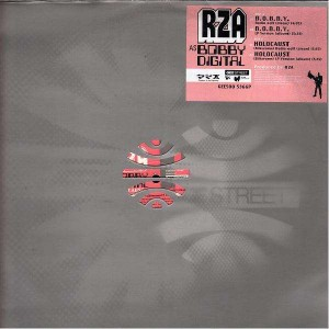 RZA  as Bobby Digital - Bobby / Holocaust  - 12''