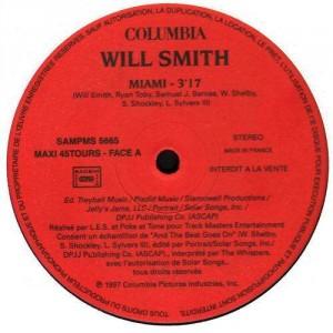 Will Smith - Miami - promo 12''
