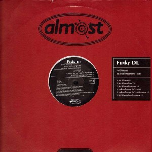 Funky DL - Soul silhouette / Its about time - 12''