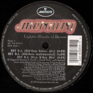 Lighters Shade Of Brown - Hey dj - 12''