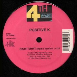 Positive K - I got a man / Night shift - 12''