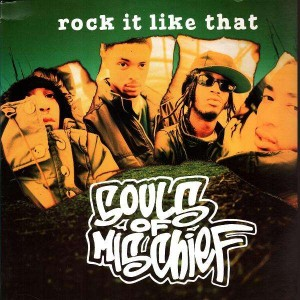 Souls Of Mischief - Rock it like that / Sho for real - 12''
