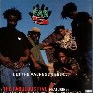The Fabulous Five - Blah / Leflah - 12''