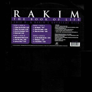 Eric B. and Rakim - The book of life - 2LP