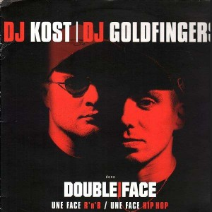 DJ Kost and Dj Goldfingers - Double Face (Album sampler) - 12''