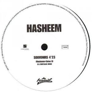 Hasheem - Souvenirs - promo 12''