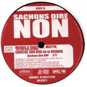 Various Artists - Sachons dire non - 12''