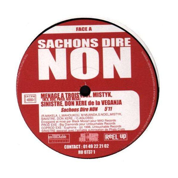 Various Artists Sachons Dire Non 12 Temple Of Deejays