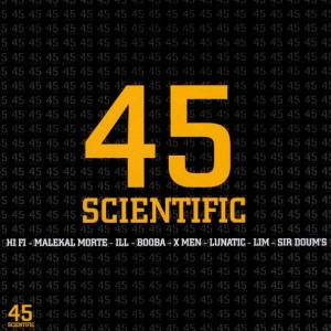 45 Scientific - Various Artists - 2LP