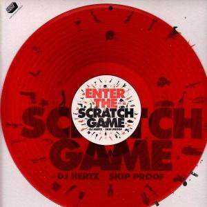DJ Hertz - Enter the scratch game - Ltd Red LP