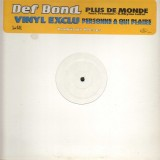 Def Bond - Plus de monde - promo 12''