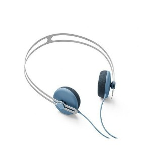 Casque AIAIAI - Petrol Blue w/ green plug Tracks with mic - headset