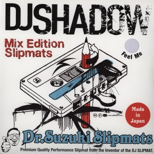 Dr. Suzuki - DJ Shadow Mix Edition - LTD Slipmats