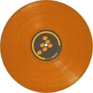 Mixvibes - Control Record - Color LP - Orange
