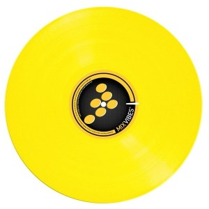 Mixvibes - Control Record - Color LP - Yellow