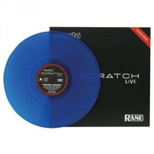 Rane - Control Record for Serato Scratch Live - Color LP - Blue