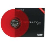 Rane - Control Record for Serato Scratch Live - Color LP - Red