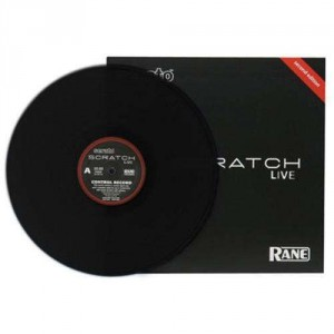 Rane - Control Record for Serato Scratch Live - LP - Black