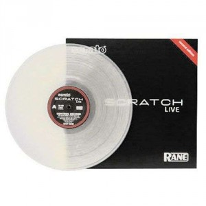 Rane - Control Record for Serato Scratch Live - LP - Clear