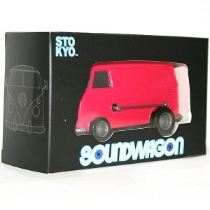 Soundwagon - Magenta - Record player