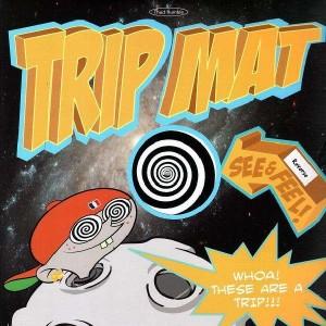 Thud Rumble - Reverse Swirl Trip-Mats - Slipmats