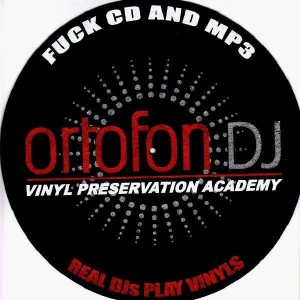 Ortofon - Fuck CD an Mp3 - Slipmats