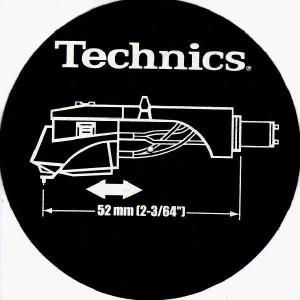 Technics - Headshell - Slipmats