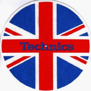 Technics - UK Flag - Slipmats